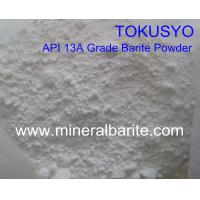 Cheap Natural API 13A Grade Barite Powder White For Drilling As Weighting Agent for sale