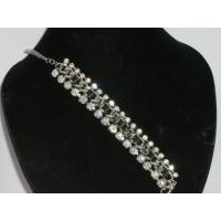 Cheap two-line crystal jewelry bracelets for women for sale