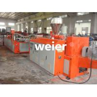 Cheap 880mm Corrugated Roofing Sheet Making Machine Plastic UPVC PVC for sale