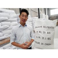 Cheap HS code 2833270000 Micronized Barium Sulfate Powder Industrial With High Affinity for sale