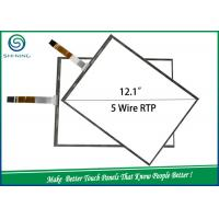 China RTP Industrial Equipment 5 Wire Resistive LCD Touch Screen Panel With A Housing on sale