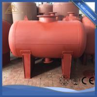 China Welded Carbon / Stainless Steel Potable Water Storage Tanks Industrial Insulated on sale