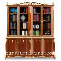 Cheap Book cases Book cabinet solid wood book shelf chia supplier Italy Style FBS-138 for sale