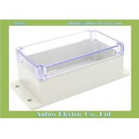 Cheap 158*90*64mm wall mount plastic waterproof standard plastic enclosures with transparent lid for sale