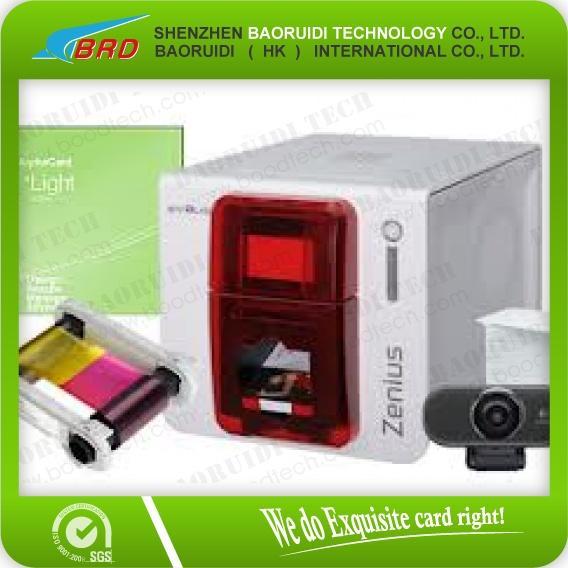 Evolis Zenius Card Printer for color business card