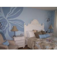 Cheap 3d surface embossed plant fiber wall paper for sale