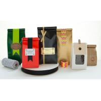 China Moistrue - Proof Coffee Packaging Bags Easy Tear Notch Various Shapes on sale