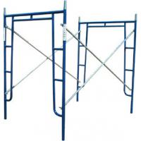 Cheap Blue Construction Safety Scaffolding Tubular Welded Frame Scaffold for sale