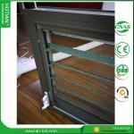 Cheap China Alibaba modern shutter window designs aluminium adjustable louver window wholesale