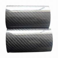 China Carbon Fiber Oval Tube with Diameter Ranging from 20 to 300mm and 0.5 to 8.0mm Thickness on sale