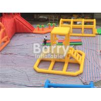 Quality Giant 22 * 25m Adult Amazing Inflatable Water Park With Air Blower / Repair wholesale