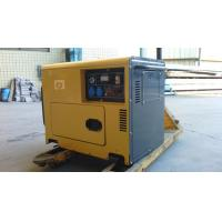 Cheap 100% copper 6kw silent diesel generator set with ATS  factory price for sale