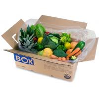 Cheap Color Printed Corrugated Carton Box For Vegetable for sale