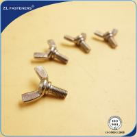 DIN315, DIN316 Butterfly Wing Bolts Carbon Steel Blue Zinc Plated M4- M24