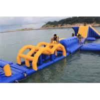 Buy cheap Customized PVC Tarpaulin Inflatable Water Toys Giant Water Park Used from Wholesalers