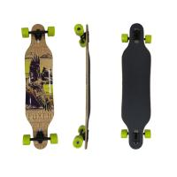 China Maple Custom Skate Boards  40.5 * 9.875 Inch 9 Layer Old-air Press / Hot Oil-press Operation on sale