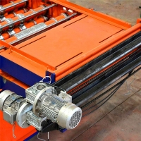 China Corrugated Roof Tile Metal Sheet Roll Forming Machine In Tile Making Machinery on sale