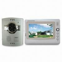 Cheap Video Intercom with 1/3 Inch CMOS Effective Pixels, OEM/ODM Orders are Welcome for sale