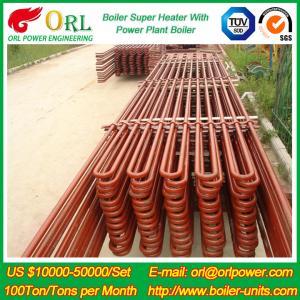 Cheap 80MW Petroleum Industry CFB Boiler Superheater OEM TUV Superheater In Boiler for sale