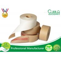 Cheap Printable Jointing Paper White / Brown Kraft Tape For Gift Wrapping Decorative Packing for sale