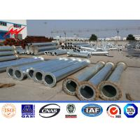 China Hot Dip Galvanized 450daN 13m Conical Electrical Power Steel Utility Pole on sale