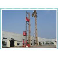 Cheap Resident Construction Passenger Material Hoist With Frequency Control System for sale