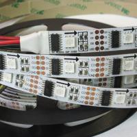 Cheap individual control ws2801 one IC with one LED chip full color 32leds 32pixels ws2801 led strip for sale
