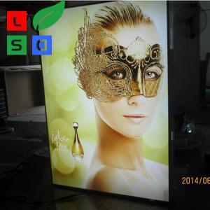 China Picture Light Box Frame Custom 28Mm Thin LED Light Display Box on sale