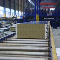 China Hydroponic Metal Sandwich Panels Insulated Metal Roof Panels Waterproof on sale