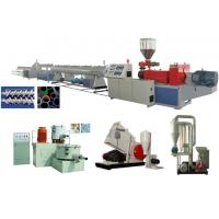 Cheap UPVC Rigid Solid Pipe Extrusion Line for sale