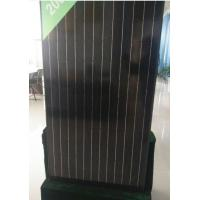 Buy cheap 30V 260W Black Grade A Solar Panel Anti Reflective Glass For Home Lighting from wholesalers