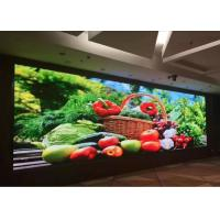 Cheap Commercial Advertising HD LED Video Wall Indoor 2.5mm Pixel Pitch 192*192 Resolution for sale