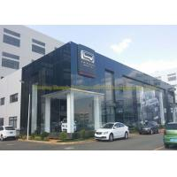 Cheap Steel Construction Building Steel Structure Warehouse Prefab Steel Car Showroom for sale