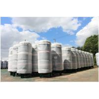 Quality Ethanol / CNG Compressed Air Storage Tank , 8mm Thickness Air Compressor Holding Tank wholesale