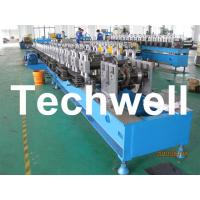 Cheap Custom Automatic Guardrail Post Roll Forming Machine With Welded Structural Steel TW-SG100 for sale