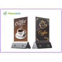 Cheap Custom Phone charging base Restaurant Coffee shop Security and other public places 4 USB lines 13000mah Menu Power bank wholesale
