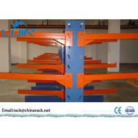 Rigid Cold Rolling Steel cantilever lumber storage racks for Industrial Workshop