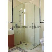 Cheap Curved Glass Shower Panel / as/Nzs 2208: 1996 for sale