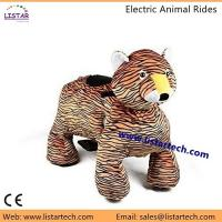 Cheap Walking Animal Toy Plush Animal Electric Scooter with Wheels Giddy up Ride on for Kids for sale