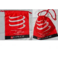 Cheap Customized Women's favorite / convenie nce / festive red / drawstring plastic bags  for gifts / clothing, clothes. for sale