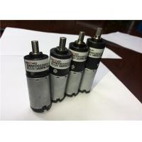 China 24V High Efficiency Micro Worm Gear / High Torque Miniature DC Motor 3 Speed Stage on sale