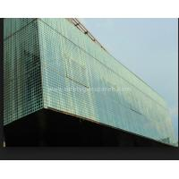 Quality 8mm Curve Printed Tempered Glass Fountains And Doors , Double Sided Printing wholesale