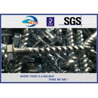 Quality Rail Screw & Spikes, Spiral Spikes for railway fastening system wholesale