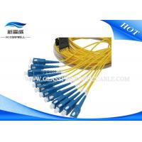 Buy cheap LC FC SC ST SM Multimode Duplex Fiber Optic Cable Pigtail For Ground Vehicle from wholesalers