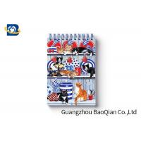 Cheap Spiral Binding 3D Lenticular Personalised Stationery Notebooks Cartoon Pet Hardcover for sale