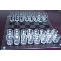 Cheap Glass Chess Set,White Glass Chess Game,Large Glass Chess Set for sale