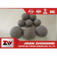 Cheap Forged and high cr cast grinding ball for ball mill used in mining for sale