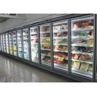 Cheap Ice Cream / Frozen Food Multideck Display Fridge Freezer With Ventilated Cooling System for sale