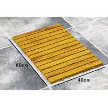 Buy cheap Recycle Waterproof WPC Bath Mats Composite Bathroom Floor Mat from Wholesalers