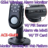 Cheap Home Intelligent GSM Wireless Photo MMS Alarm Camera Monitor W/ PIR Theft Burglar Detect for sale